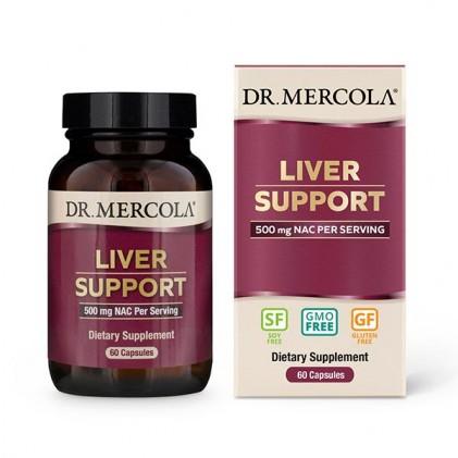 Viên uống hỗ trợ gan Dr Mercola Liver Support with NAC 1