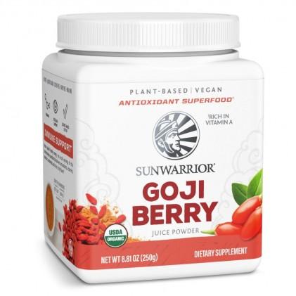 Bột nước ép kỳ tử hữu cơ Sunwarrior Organic Goji Berry Juice Powder 1
