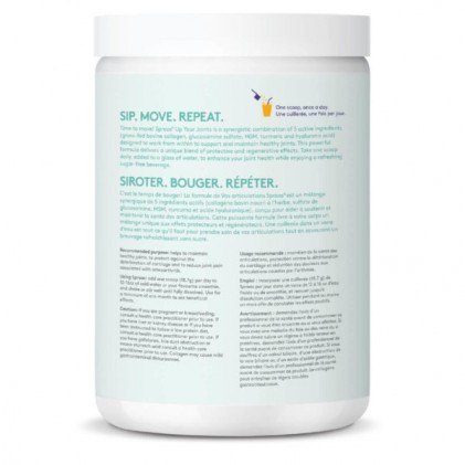 Collagen cho da & xương khớp Sproos Up Your Joints 4