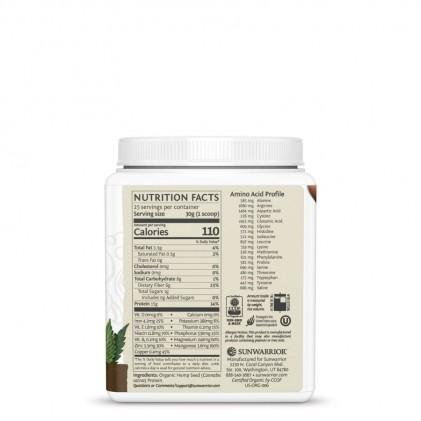 Protein hạt gai dầu Sunwarior Hemp protein 4