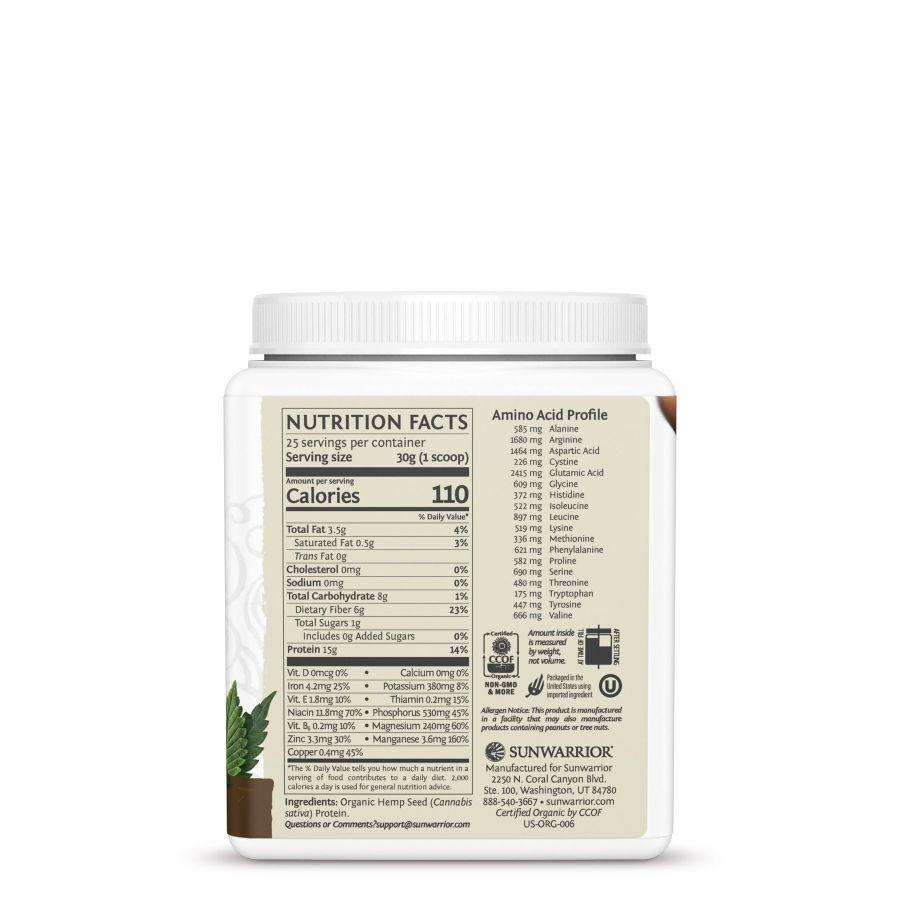Protein hạt gai dầu Sunwarior Hemp protein 5