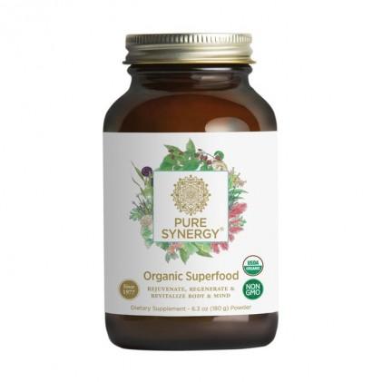 Hỗn hợp bột 60+ loại siêu thực phẩm PURE SYNERGY® SUPERFOOD Powder 180g 1