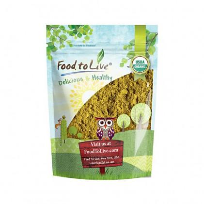 Bột mầm bông cải xanh hữu cơ Food to Live Organic Broccoli Sprout Powder 113g 1
