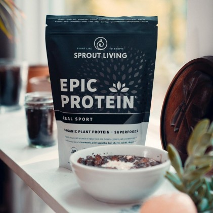 Protein cho người tập thể thao & siêu thực phẩm Sprout Living Premium Superfood Protein, Real Sport 3