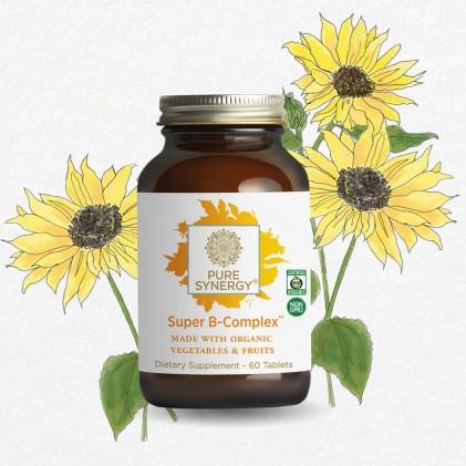 Phức hợp vitamin B Pure Synergy SUPER B-COMPLEX™ 2