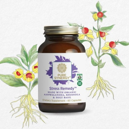 Viên uống giảm căng thẳng Pure Synergy STRESS REMEDY™ 4