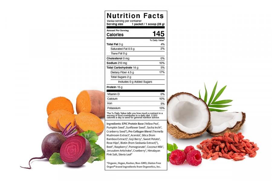Pro Collagen & siêu thực phẩm Sprout Living Premium Superfood Protein 4