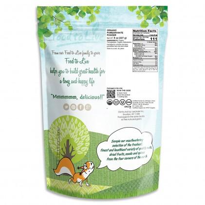 Bột lựu hữu cơ Food to Live Organic Pomegranate Powder 1lb (454g) 2