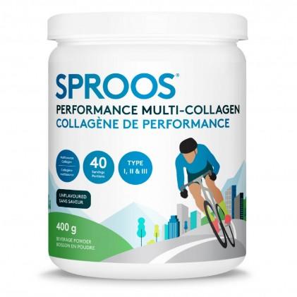 Collagen thủy phân cho da, tóc, móng, khớp, đường ruột & khả năng phục hồi Sproos Performance Multi-Collagen 1
