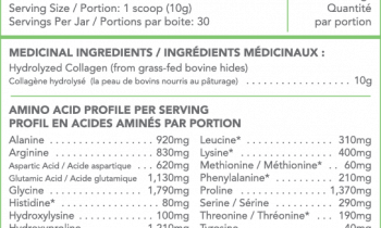 Collagen thủy phân từ bò ăn cỏ Sproos Grass-Fed Collagen 5