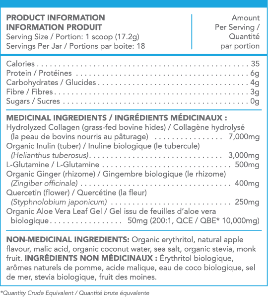 Collagen thủy phân tốt cho da & đường ruột Sproos Gut Collagen 5